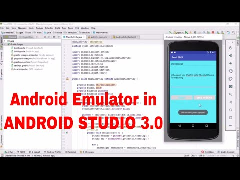 Creating first Android PC Emulator in my Desktop using ANDROID STUDIO 3.0