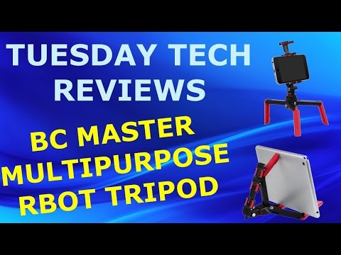TTR: AMAZING MULTIPURPOSE ROBOT TRIPOD BY BC MASTER UNBOXING AND REVIEW