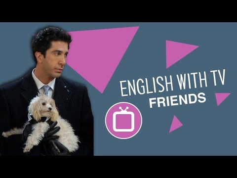 Learn English with FRIENDS: What Really Happened to Ross' Dog?