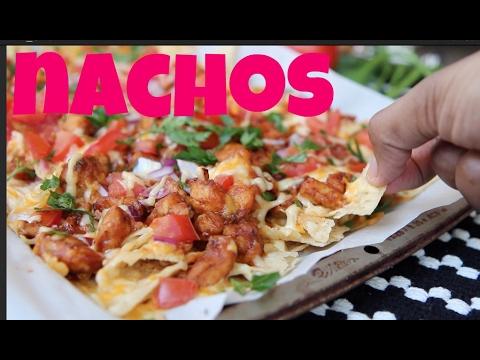 Easy & Quick BBQ Chicken Nachos