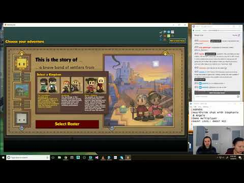 Stonehearth Dev Stream 322: Hearthside chat 🍨Stephanie🍨 & ✨Angelo✨