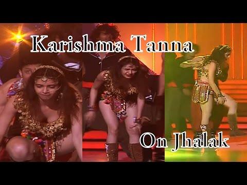 Ouch! Karishma Tanna falls during Jhalak rehearsals