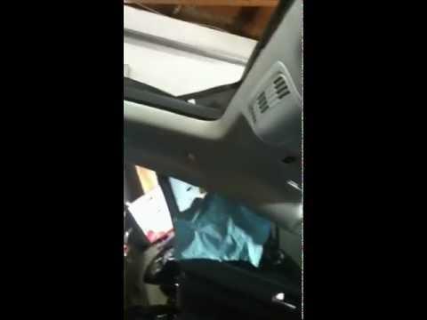 2010 VW Sportwagen Jetta Leaking Sunroof Drain