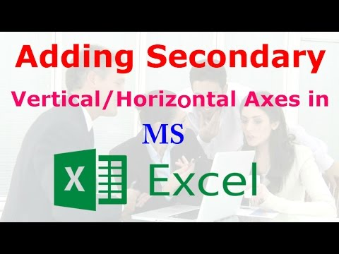 How to Create Secondary Horizontal/Vertical Axes in Microsoft EXCEL