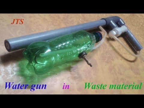 How to make a high pressure water gun -