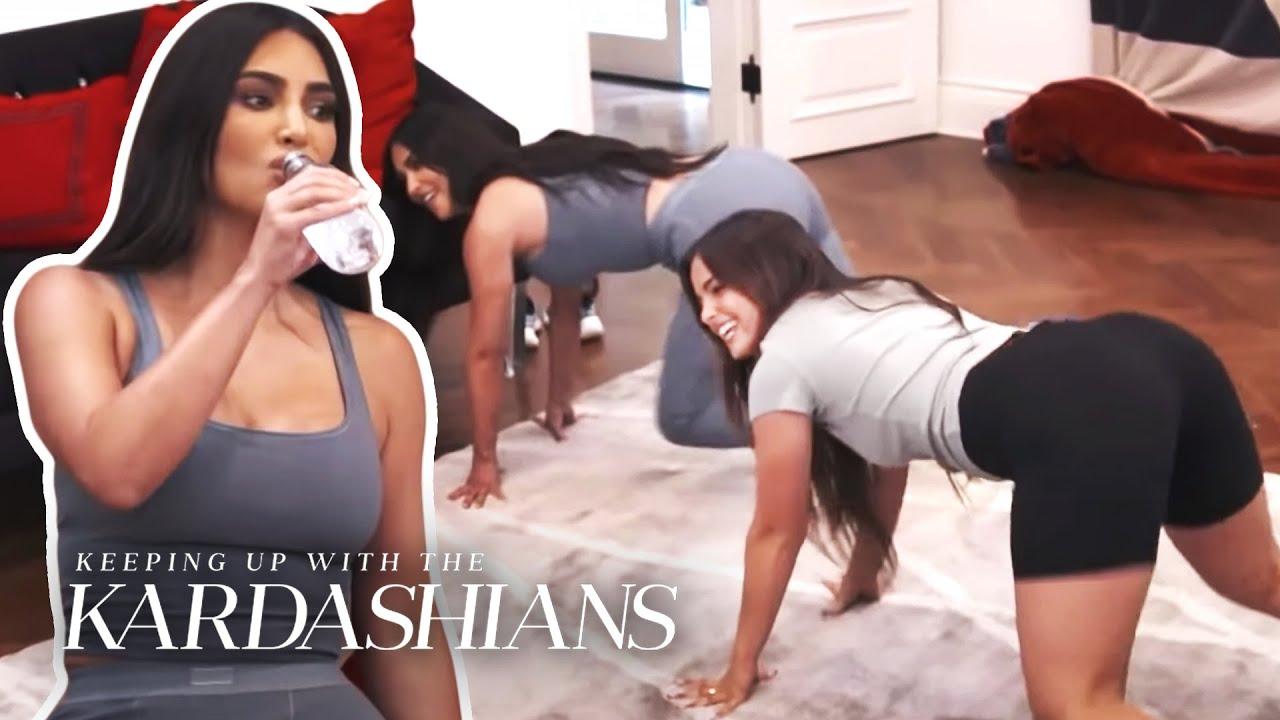 Kim Kardashian Takes TikTok Dance Lessons From Addison Rae   KUWTK   E!