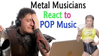 Download Metal Musicians React to POP Music Video