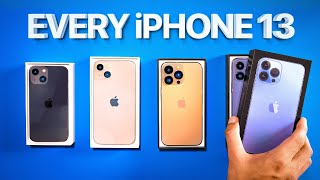 iPhone 13 Unboxing - Are they ACTUALLY Good!?