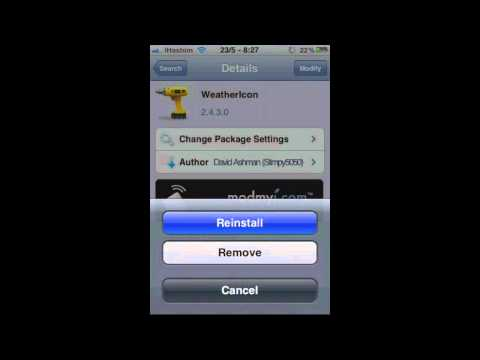 Automatically Updating Weather Icon For iPhone/iPod Touch