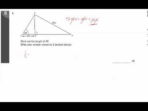 End of Unit Test - U20 Pythagoras Q6