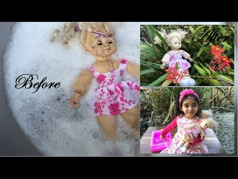 | Aiesha عائشة | DIY How To Remove Ink Stains from Doll's Skin