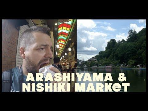 Street Food (Japan) Epi 9.5 - Arashiyama & Nishiki Market