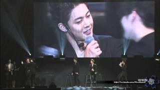 Ss501 Kim Hyung Jun Kiss Kim Hyun Joong - Concert In Saitam