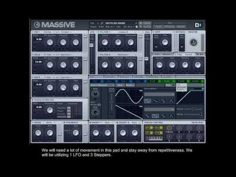 Hans Zimmer - Man of Steel - Pad Synth Tutorial - NI Massive