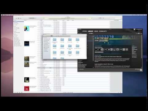 Mac OS X Lion Tutorial - How to find your Steam DLC Soundtracks
