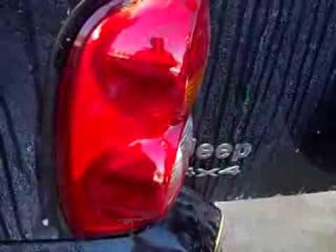 Replacing Tail Light Lens (or bulbs) Jeep Liberty
