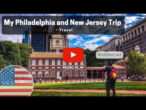 My Philadelphia and New Jersey Trip - Travel