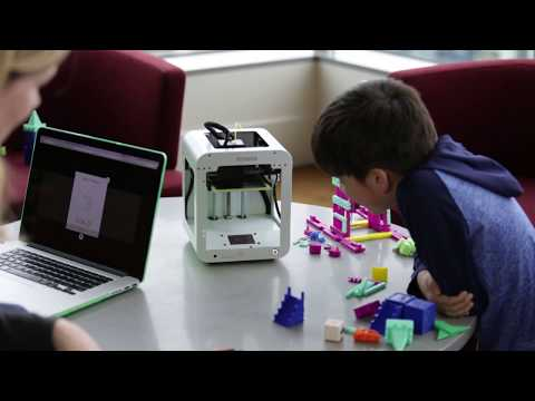 TOYBOX: Your Kid's First 3D Printer