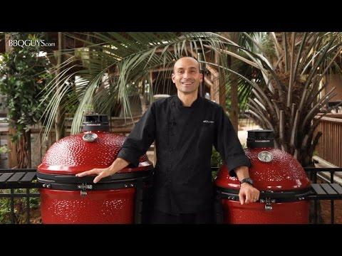 Kamado Joe Classic II & Big Joe Charcoal Grill Review | BBQGuys.com