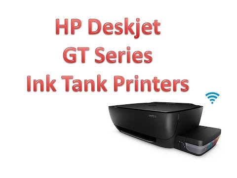 Facts Reveled About HP Deskjet GT Series Printers / Ink Tank Printers in HP