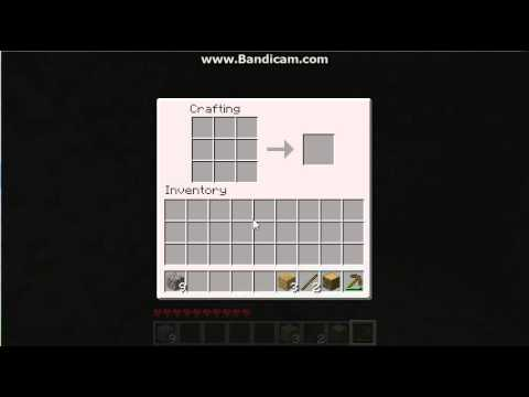 Minecraft - Make Torches WITHOUT coal, using ONLY wood