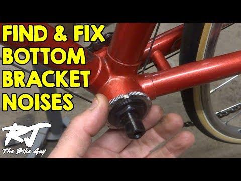 How To Fix Bottom Bracket Noises