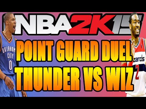 NBA 2K15 Online Gameplay - Wizards vs Thunder - PROMOTION for Gamersaloon!