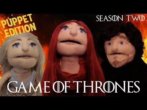 Game Of Thrones Recap: PUPPET EDITION (Season 2)