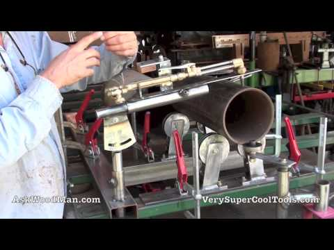 Cutting Torch 1 of 3: Oxy Acetylene Torch Holder / Pipe Rolling System