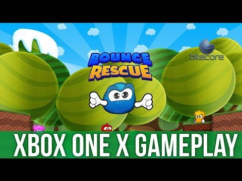 Bounce Rescue - Xbox One X Gameplay (Gameplay / Preview)