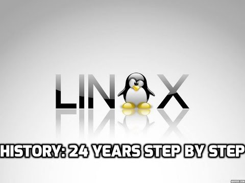 Linux History: 24 Years Step by Step