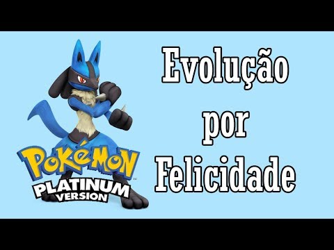 🎮 (Tutorial) Evoluindo por Felicidade! Pokémon Pearl/Diamond/Platinum