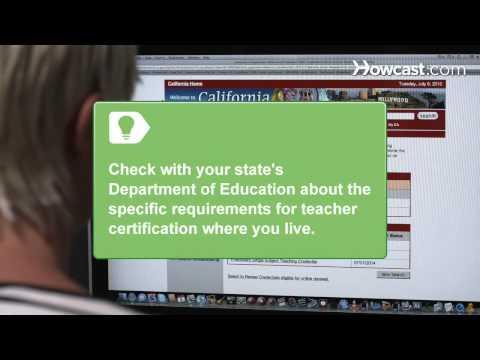 How to Get Teacher Certification