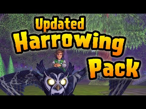 Wizard101: Opening the New Updated Harrowing Pack