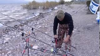 #x202b;תחרות דייג בכנרת-כתבתו של רובי המרשלג-ינואר 2014#x202c;lrm;