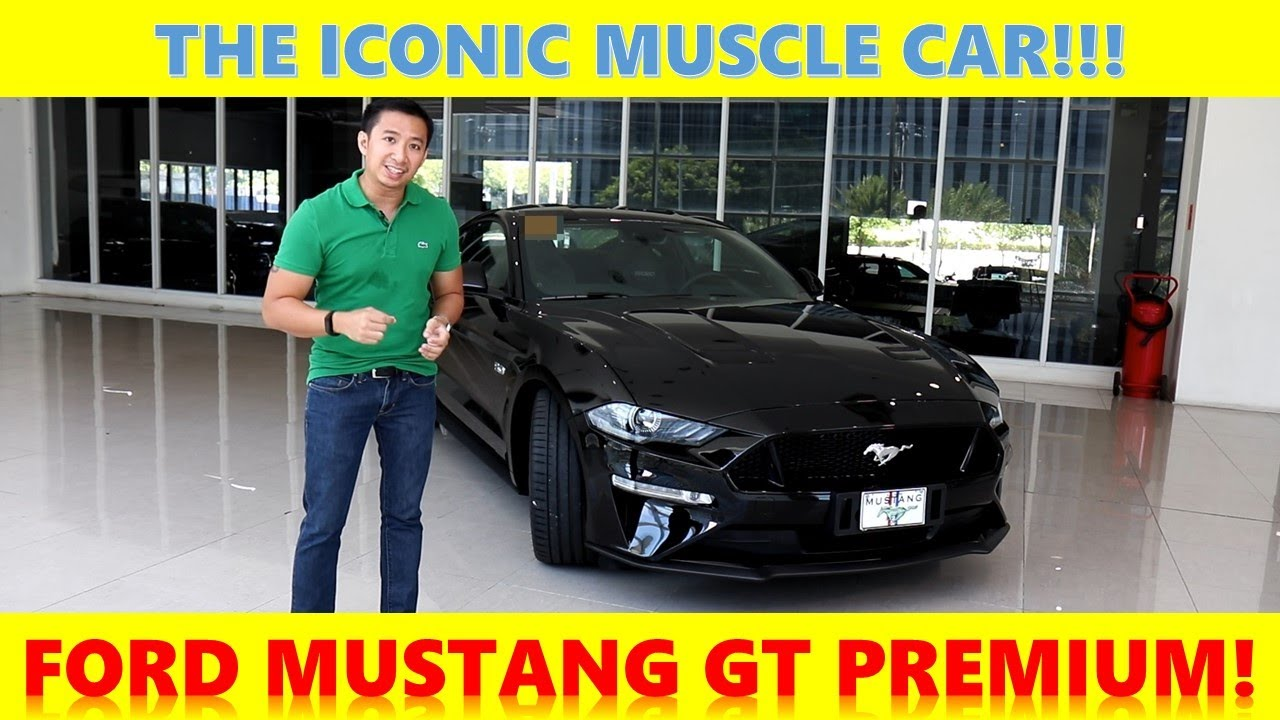 I review the FORD Mustang GT Premium!!