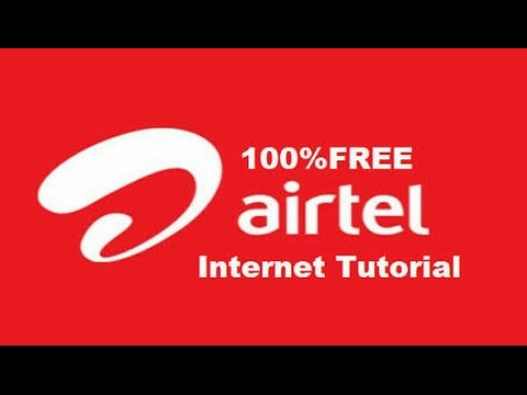 Airtel Free Internet Trick(2G/3G/4G Speed)