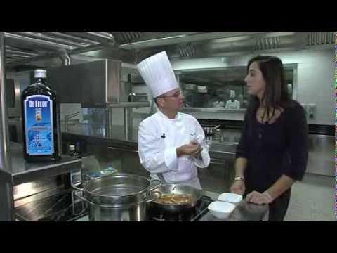 Pasta recipe: Spaghetti De Cecco bacon, artichokes and mint flavoured tomatoes