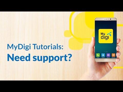 Let us help you out via the new MyDigi app.