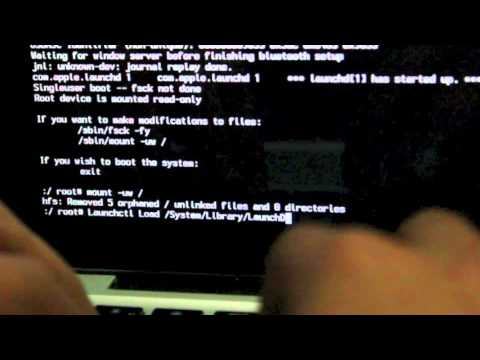 How to reset your password for macbook pro (without disk)