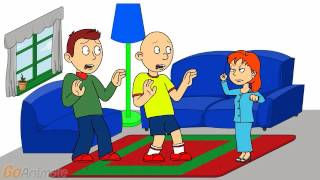 Rosie Yells At Caillou And Boris And Gets Grounded
