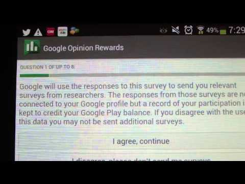 How To Get FREE Google Play Store Credits December 2013![Legit and Working]