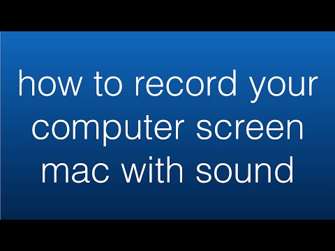 How to Record Your Computer Screen Mac with Sound - 100% Free