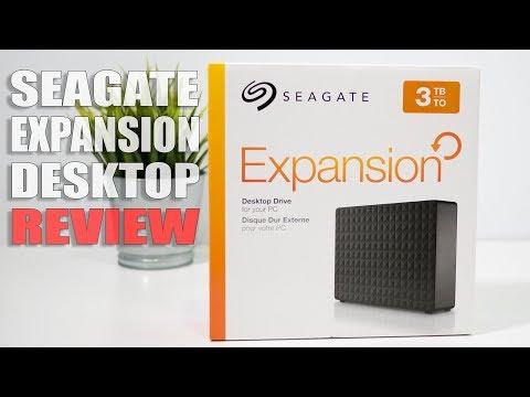 Seagate Expansion Desktop External Hard Drive 3TB 2018 Review