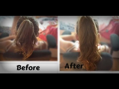 Make your hair look LONG in 5 MINUTES! -HowToByJordan