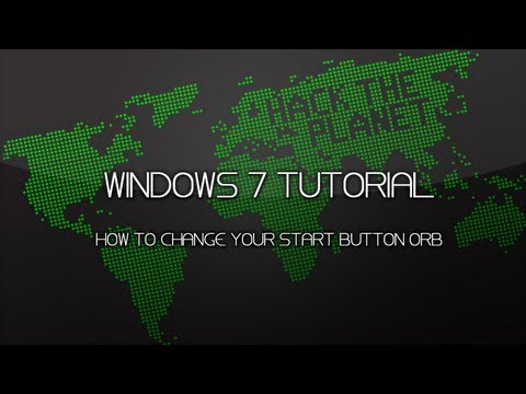 Windows 7 | How to Change Your Start Button Orb