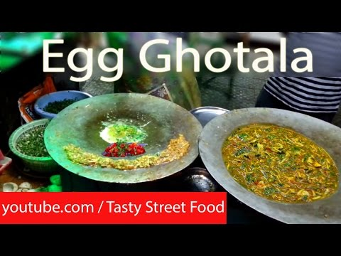 ANDA Ghotala and Tomato Half Fry Egg- How to make ? Full Egg Dish Recipe