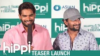 Hippi Teaser Launch | Karthikeya | Nani | Digangana Suryavanshi | TN Krishna | V Creations