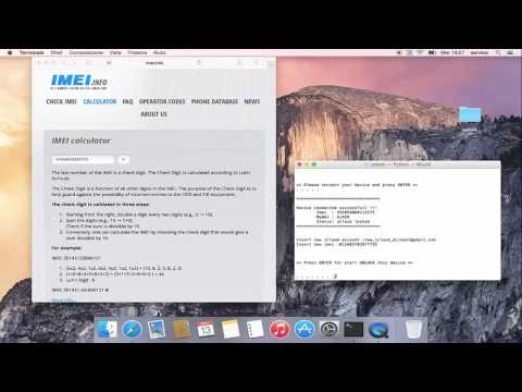 2017 - Change Imei Apple - Unlock Device Apple ! For ever ! 2017