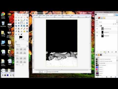 GIMP Tutorial Combining Images